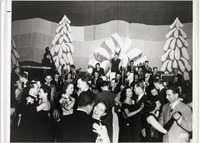 Page 110 B-Bottom: Christmas Formal dance, sponsored by the Inter-Sorority and Inter-Fraternity Councils