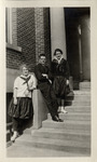 Jessie Darling, Class of 1921, Marhney [?], and...