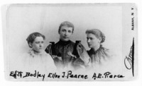A group portrait of Edith Bodley, New York State...