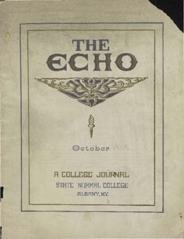 The Echo Volume 17 Number 1