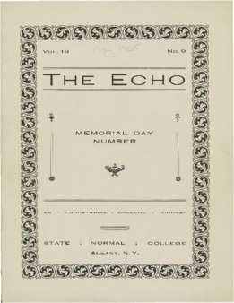 The Echo Volume 13 Number 9