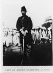 Faculty member Albert N. Husted in his military...