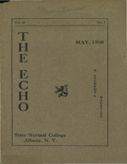 The Echo Volume 16 Number 9