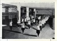 Page 68 B-Bottom: Women's Gymnastics Class.