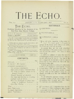 The Echo Volume 6 Number 7