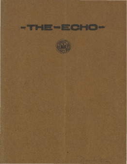 The Echo Volume 21 Number 7
