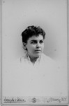 Portrait of Mary A. Scott, student, New York State...