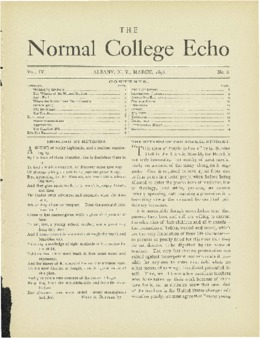 The Echo Volume 4 Number 8