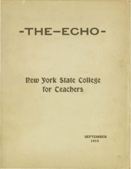 The Echo Volume 25 Number 1
