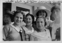 Students Helena Duerschner, Mary Whish, Gertrude...