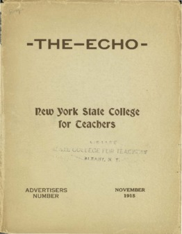 The Echo Volume 25 Number 3