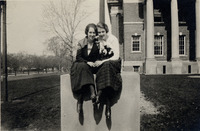 Grace McGuire from the Class of 1923 and Lillian...
