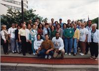 Page 207 B-Bottom: The 1993 Alumni(ae) leadership team.