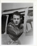 Page 89 A-Top Left: Lt. Zollie Privett in the cockpit of his Tenth Air Force plane.