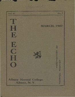 The Echo Volume 15 Number 7