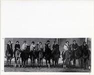 Page 72: Women's Horseback Riding Team.