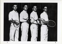Page 73 B-Bottom: Men's Tennis Team.