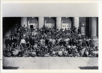 Page 78 A-Top: The Class of 1931 during their freshman year.