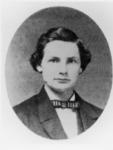 1860 portrait of Normal School Alumnus J. Oscar...