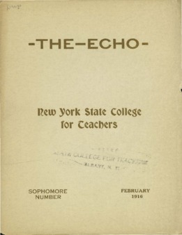 The Echo Volume 25 Number 6