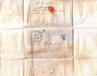 A digital reproduction of the exterior of a letter...