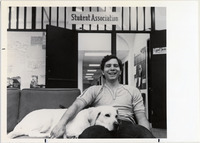 Page 187: Michael Corso, '83, '84, was elected President of the Student Association in 1982-1983