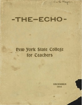 The Echo Volume 25 Number 4