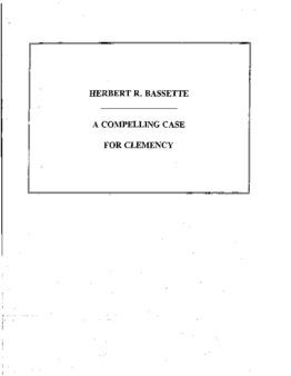 Bassette, Herbert R, VA, Clemency granted