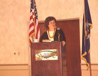 University at Albany President Karen Hitchcock