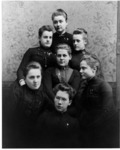 Unidentified female students of the New York State...