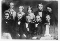 A group portrait of members of the New York State...