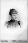 Portrait of an unidentified female student from...