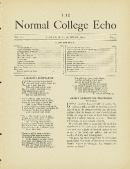 The Echo Volume 3 Number 3