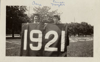Students Margaret Crane and Eunice Meyers from the...