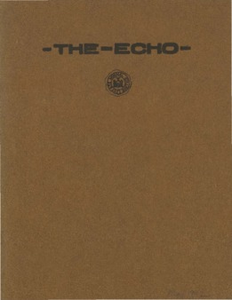 The Echo Volume 21 Number 9