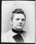 A portrait of Jennie Potts, New York State Normal...