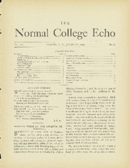 The Echo Volume 4 Number 6