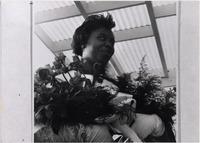 Page 128 B-Bottom: Homecoming Queen Harriet Tucker.