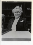 Page 116 A-Left: Edith O. Wallace, '17 and first chairperson of the Division of Humanities.