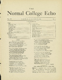 The Echo Volume 3 Number 2