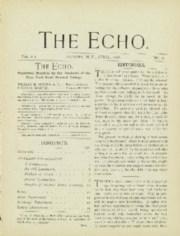 The Echo Volume 6 Number 9