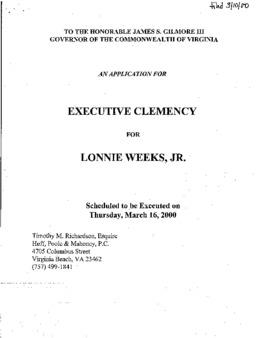 Weeks, Lonnie, Jr, VA