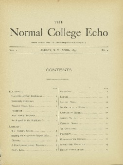 The Echo Volume 1 Number 9