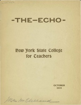 The Echo Volume 25 Number 2