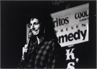 Page 174 C-Bottom Right: Cathy Ladman, '75, a popular standup comic.