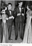 Two couples at the Class of 1937 Senior Hop....