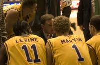 Men's Basketball coach Will Brown, 2003 December 5
