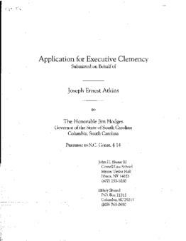 Atkins, Joseph Ernest, SC