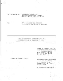 Pollard, Roosevelt, Jr, MO Execution has been stayed