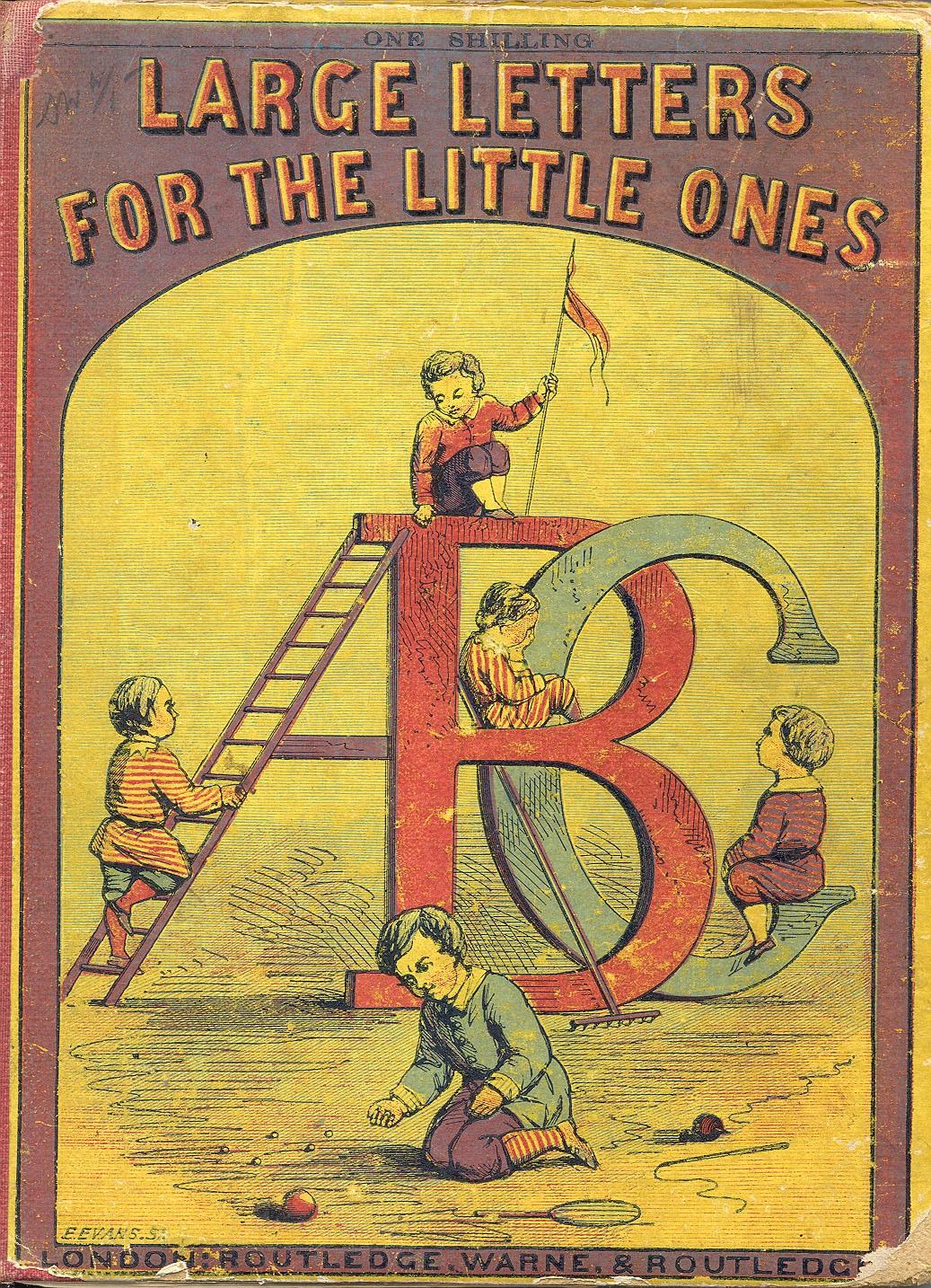 Large Letters for the Little Ones, Edmund Evans